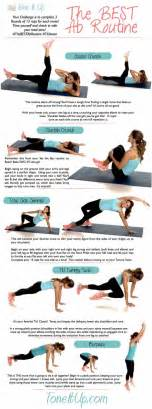 Ab Workout The Best Ab Workout Routine Toneitup