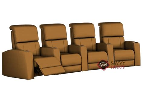 theatre sofa seating hifi leather sofa by palliser is fully customizable by you