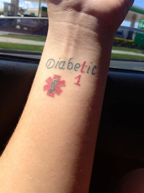 type 1 diabetic tattoo type 1 diabetes praying for a cure