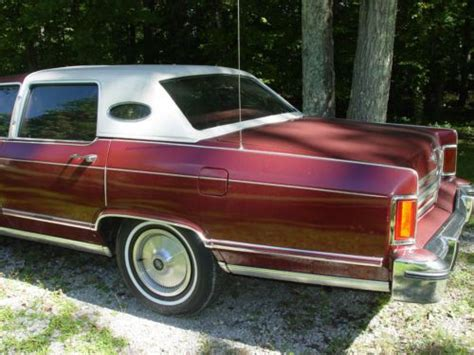 1978 lincoln town car parts sell used 1978 lincoln continental town car all