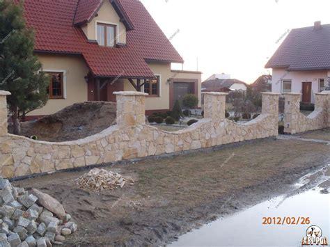 Mauer Aus Steinen polygonale sandsteinverblender