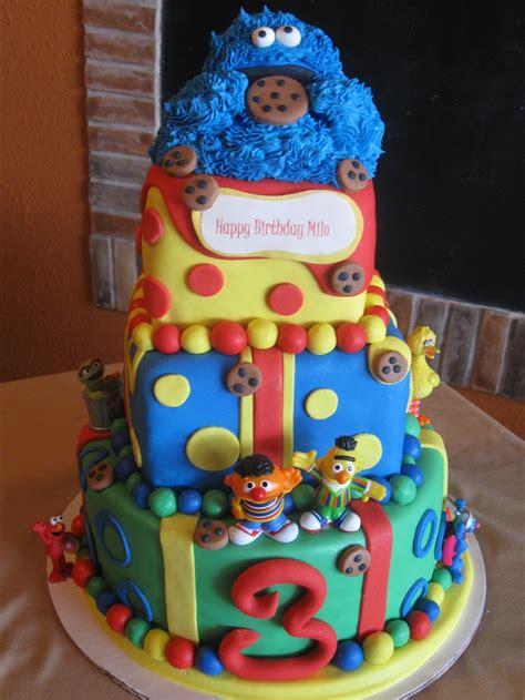 st birthday sesame birthday cake c est la vie custom cakes
