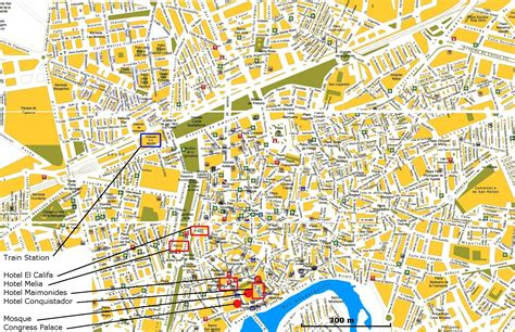 cordoba map map of cordoba