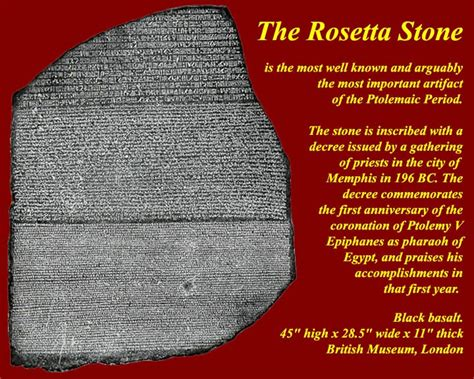 rosetta stone why is it important egtkw0900alexandrinesptolemiesromans html