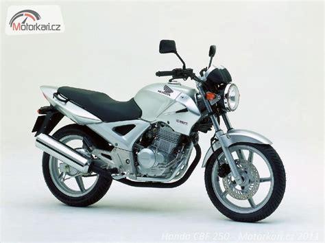 honda cbf 250 honda cbf 250 motork 225 ři cz