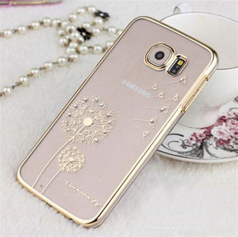Baby Skin Samsung A9 2016 Gold by Luxury Fashion Dandelion Protective Cover