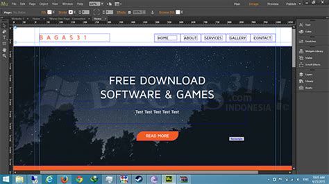 membuat website dengan adobe muse adobe muse cc 2015 full version