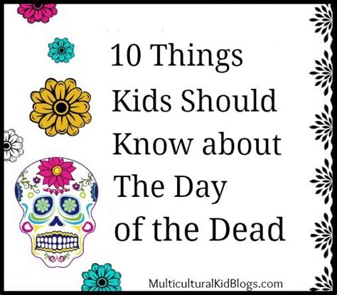 day of the dead books dia de los muertos publications day of the dead facts in english and spanish spanish