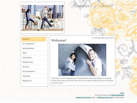 Wedding Paper Divas Free Website by Free Wedding Website Matching Wedding Stationery From