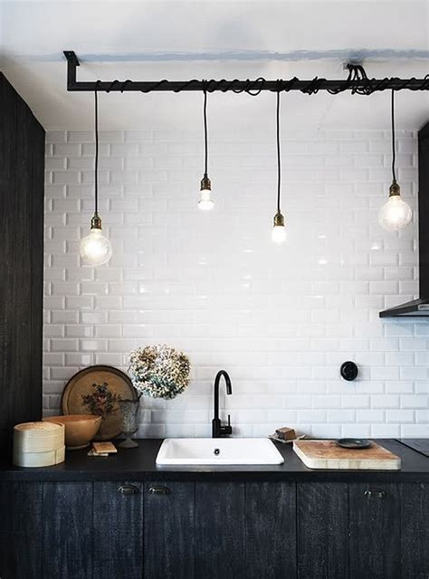 Cool Hanging Lights Cool Industrial Pendant Lighting Idea For The Contemporary Bathroom Design Renew Design Decoist