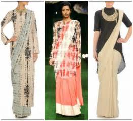 Drape A Saree In Different Ways How To Wear Saree In Dhoti Style Indo Western Half Saree