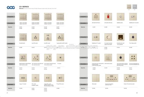 types of electrical switches for lights home appliances dubai electrical socket 13 with neon