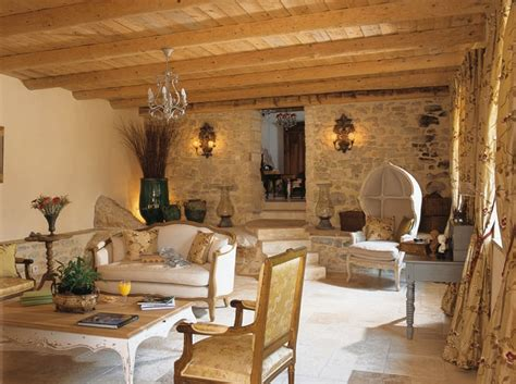French Country Home Interiors | dream french country stone house decoholic