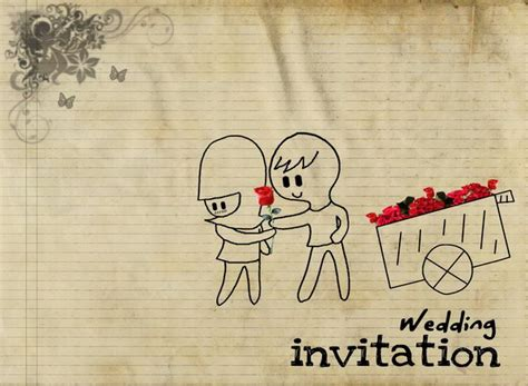 13 free animated wedding invitation templates
