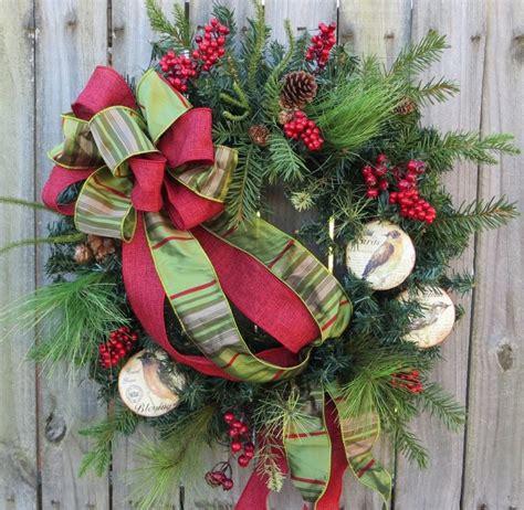 Handmade Wreaths Ideas - decoration ideas how to make bows for wreath