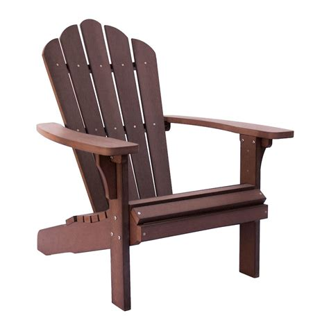 Brown Adirondack Chairs by West Palm Plastic Adirondack Chair Chateau Brown