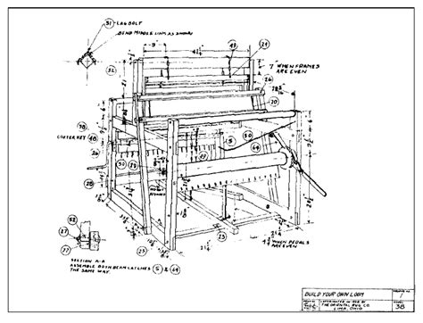 floor loom plans how to build a wood deer feeder floor loom plans
