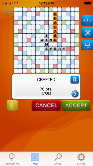 Descrambler Unofficial Word Solver For Scrabble