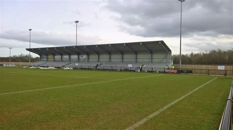 Ring Stand Football Club 3 pics of the new seated stand darlington football club