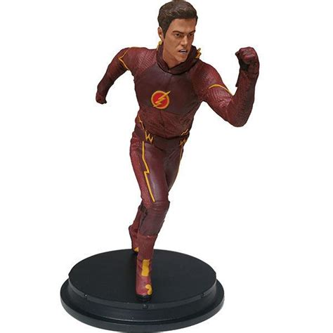 Buy Bookends dc comics the flash tv barry allen statue icon heroes