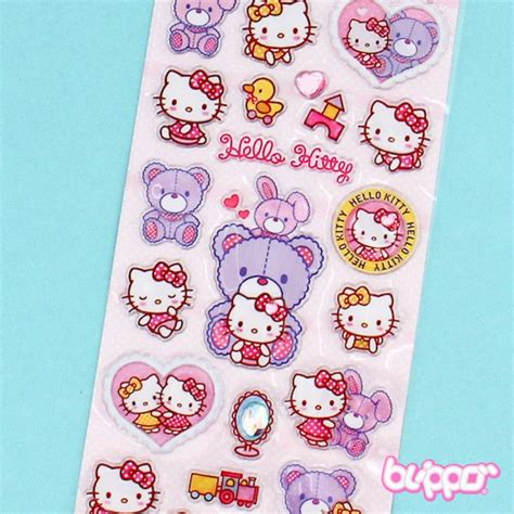 Walpaper Sticker Dinding Pink Hello 1 buy hello stickers teddy free shipping blippo kawaii shop