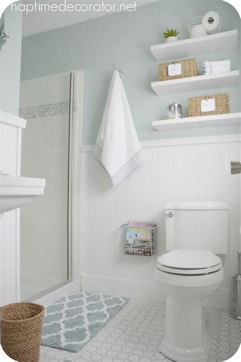 Sherwin Williams Rainwashed Master Bath Paint Bathroom Shower Paint