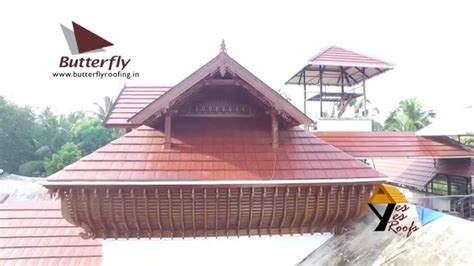 roofing sheets in kerala truss roof with clay tile