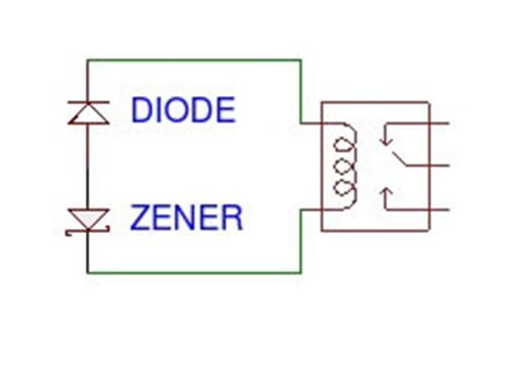zener diode relay protection how does an electric relay work techydiy