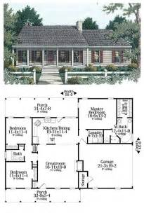 open split floor plans country ranch house plan 40026