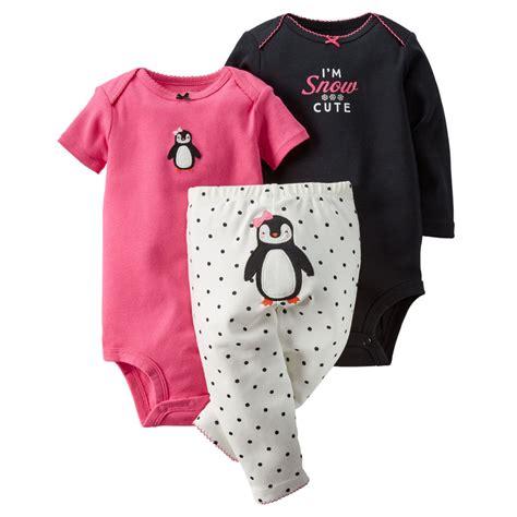 baby clothes s s world carters newborn 3 6 9 12 18 24 months penguin bodysuit set