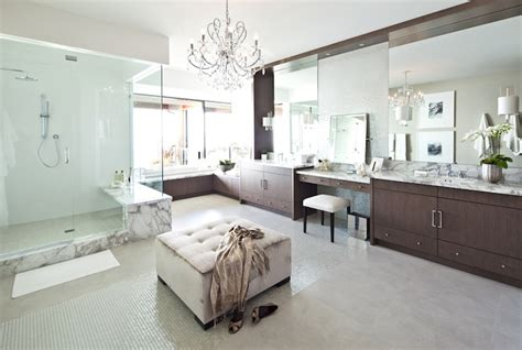 Chandelier Bedding Set Master Bathroom Ideas Contemporary Bathroom Kelly