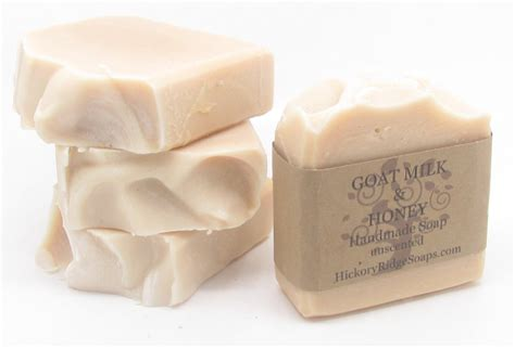 Handmade Soaps - goat milk honey soap handmade soaps by
