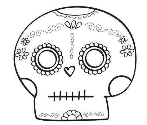 Dibujos Para Colorear Calaveras De Dia De Muertos | dibujos de calaveras para iluminar imagui