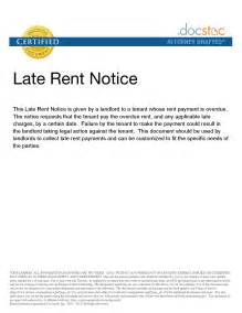 rent late notice template best photos of landlord past due notice eviction notice