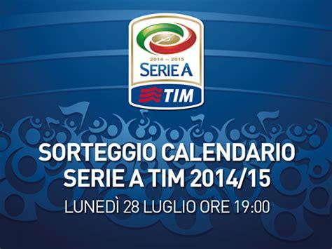 Calendario Chions League 2014 15 Sorteggio Calendario Serie A 2014 15 Date Modalit 224 Derby