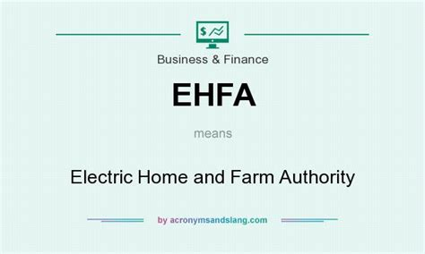 ehfa electric home and farm authority in business