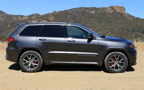 gray jeep grand cherokee 2017 comparison acura rdx 2017 vs jeep grand cherokee srt