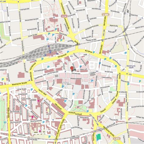 dortmund map of germany dortmund map