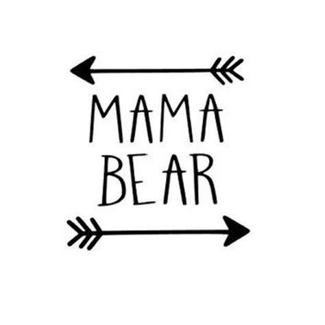 Monogram Home Decor by Mama Bear Decal One Color Perfect For From