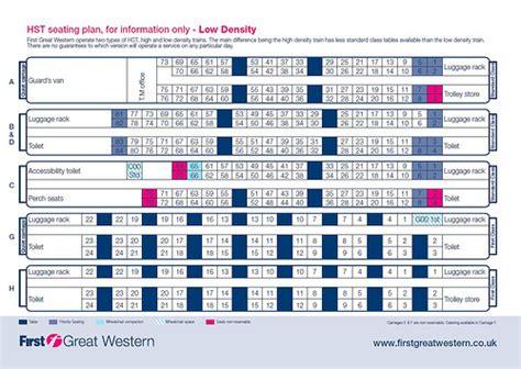 hull trains seat plan seating plans seat numbering layout in european