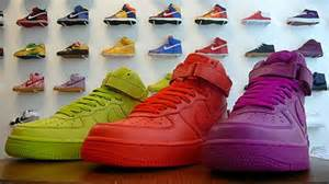 different color air ones nike air 1 high solid colors is better on