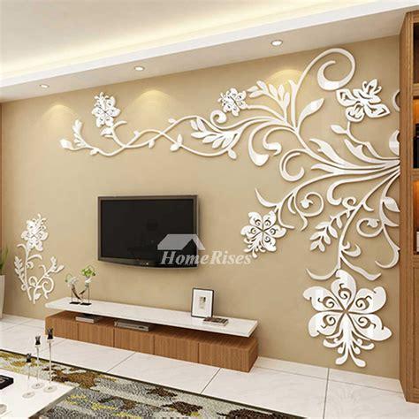 home decor 3d living room wall decor 3d acrylic modern bedroom large unique