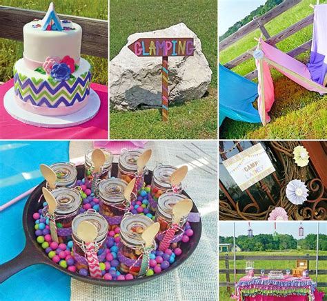Sleepover Decorations by Bright Pink Chevron Gling Outdoor