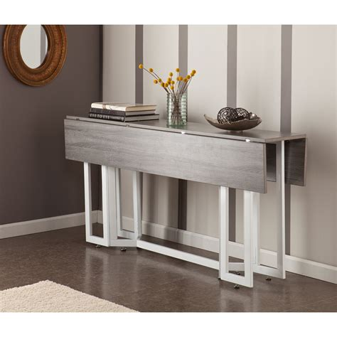 Gray Kitchen Table by Driness Weathered Gray Drop Leaf Table Martin