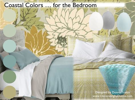 beach colors for bedrooms coastal color for your bedroom decorating by donna color expert