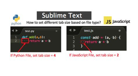 sublime text 3 theme tab sublime text 3 how to set different tab size based on