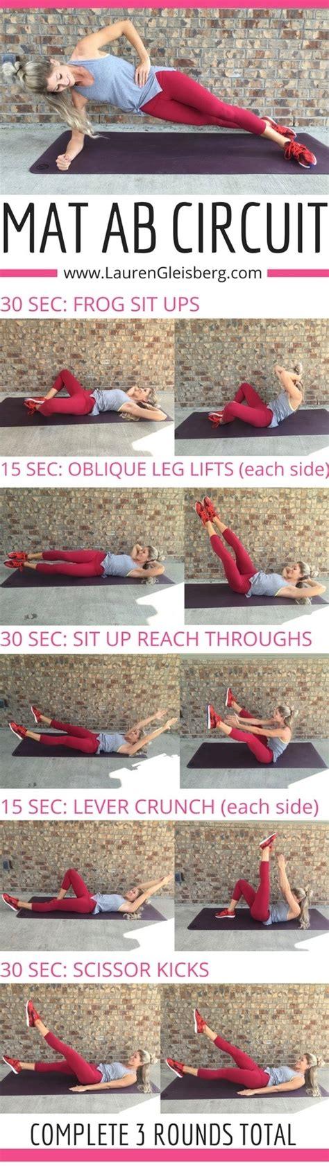 the best 7 1 2 min mat ab workout gleisberg