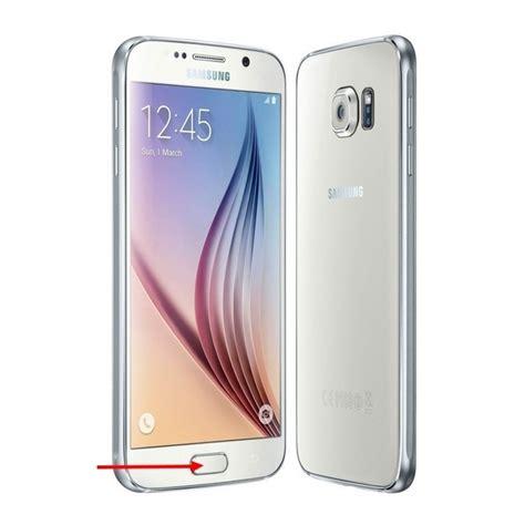 Cas Samsung S6 G920f Flexibel S6 Samsung S6 G920f samsung galaxy s6 sm g920f bouton et nappe home blanc