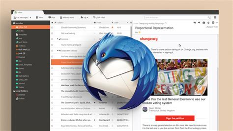 mozilla best themes thunderbird email client finally has a new home omg ubuntu