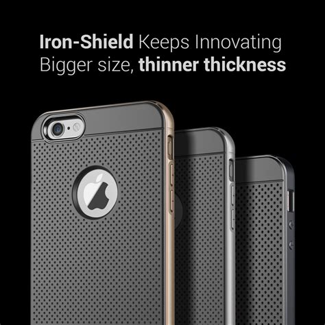 Soft 360 Iphone 7 Plus Casing Bahan Halus Silicon jual casing verus iphone 6 plus iron shield titanium aksesoris elegan 99gadget